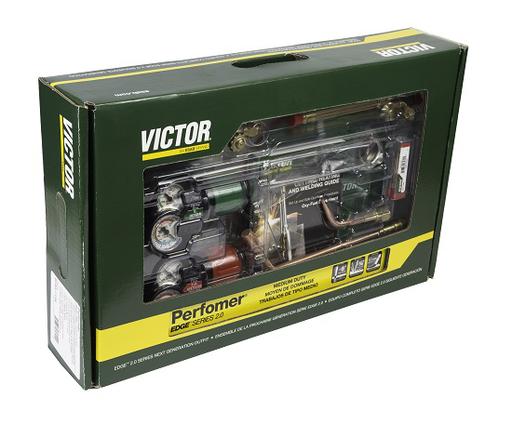 Victor®Performer®/EDGE™ 2.0 Medium Duty Acetylene Cutting/Heating/Welding Outfit CGA-540/CGA-510