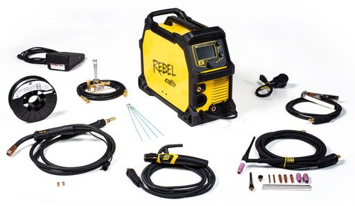 ESAB® Rebel™/ Rebel™ EMP 205ic AC/DC Multi-Process Welder, 120/230 Volt, Single Phase