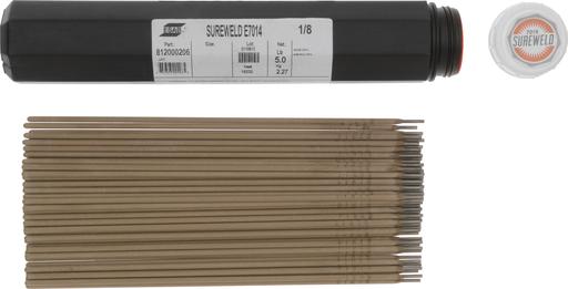 "ESAB® Sureweld 7014 1/8"" X 14"" Stick Electrodes, 5#VALPAK"