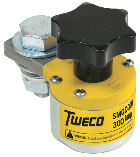 Tweco® SMGC300 Ground Clamp (300A) Switchable Magnetic