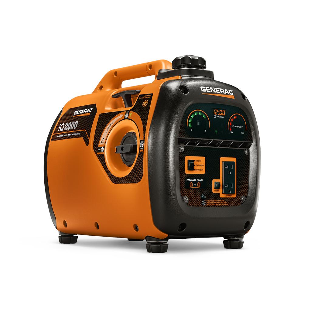 Generac 6866 iQ2000 2000 W 50 STATE/CETL Residential Inverter Portable Generator