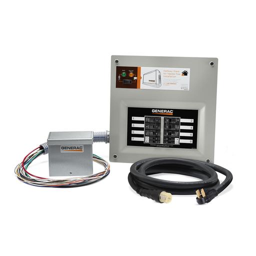 9855 - 50 Amp HomeLink MTS Kit (alum PIB), 10-16 circuits, flush or surface mount, NEMA 1