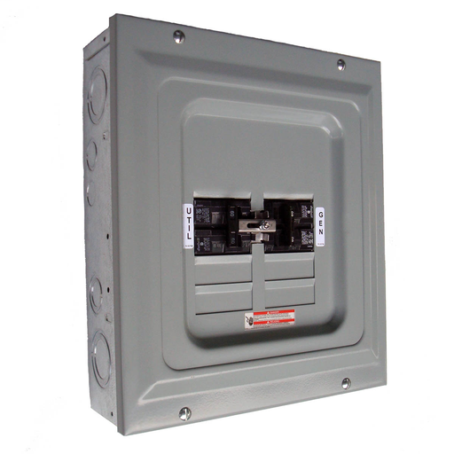 60-Amp Single-Load Manual Transfer Switch
