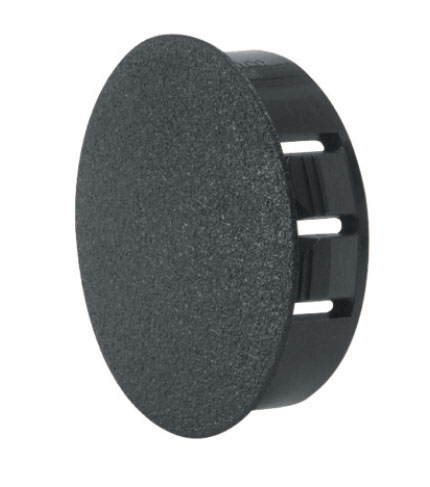 Mayer-Heyco® Dome Plugs, Nylon 6/6, 0.45 Overall Height (inches), 0.875 Mounting Hole Diameter (in)-1