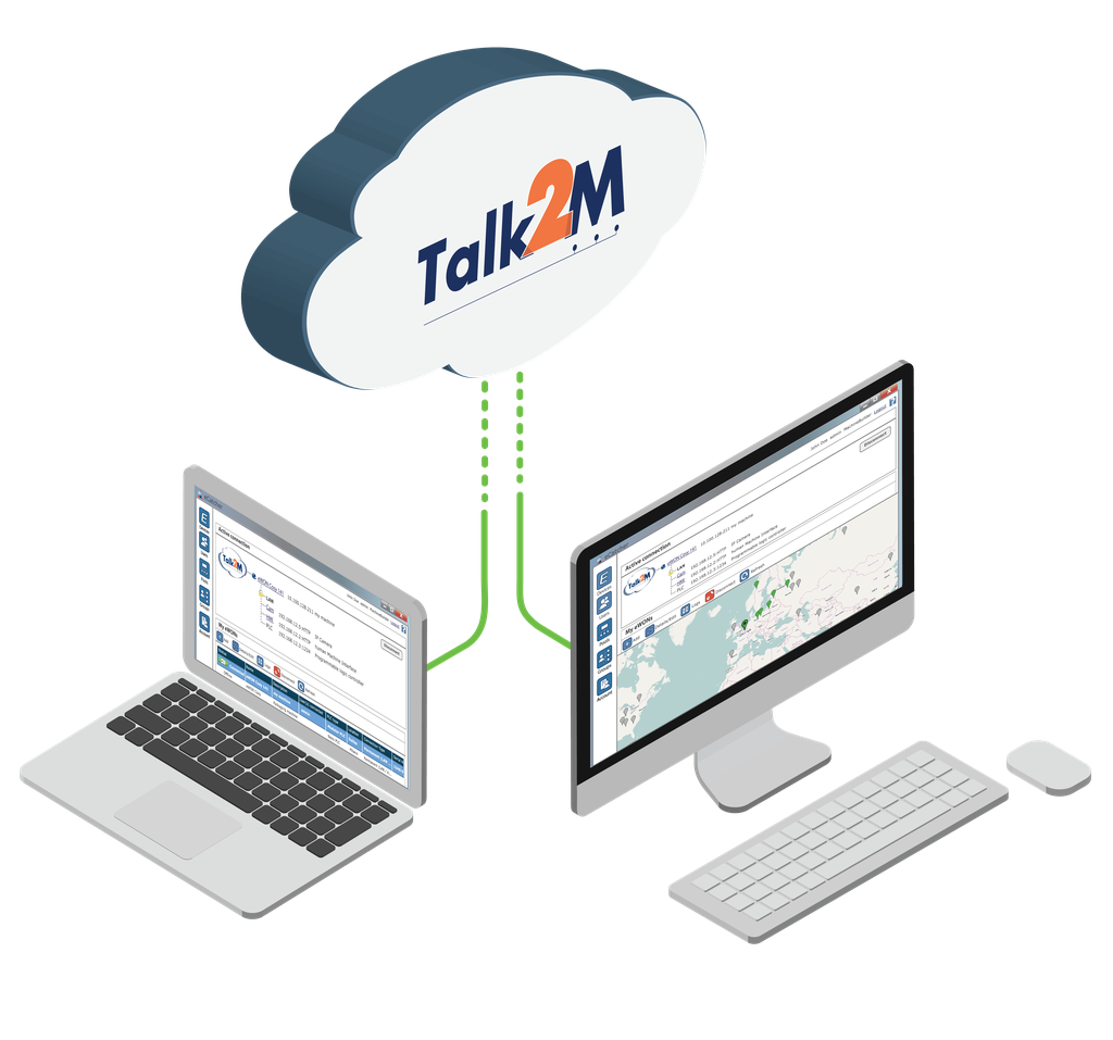 Talk2M Pro pack with 3 conc. connections