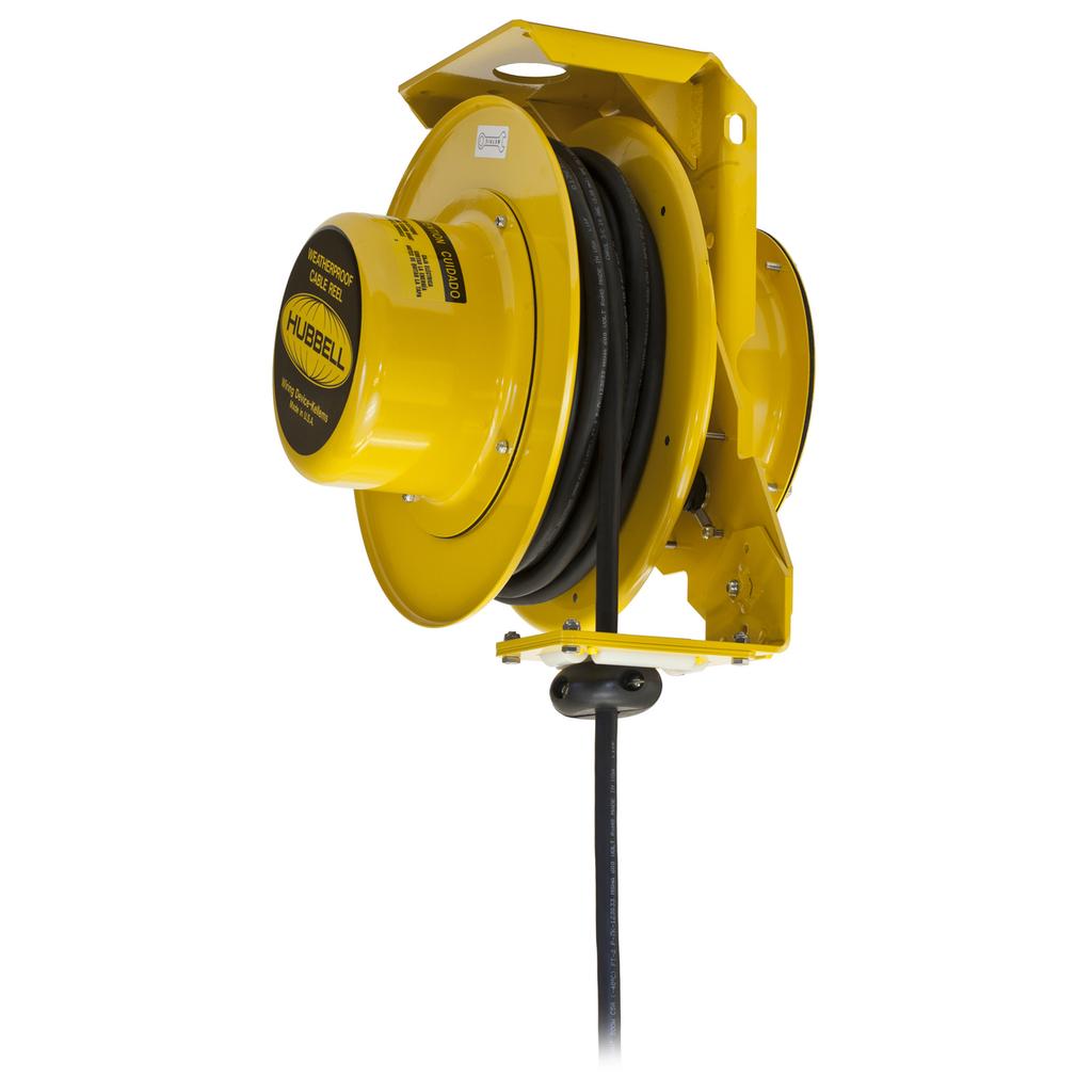 HCI HBL501042W W/PROOF ELEC REEL, 5