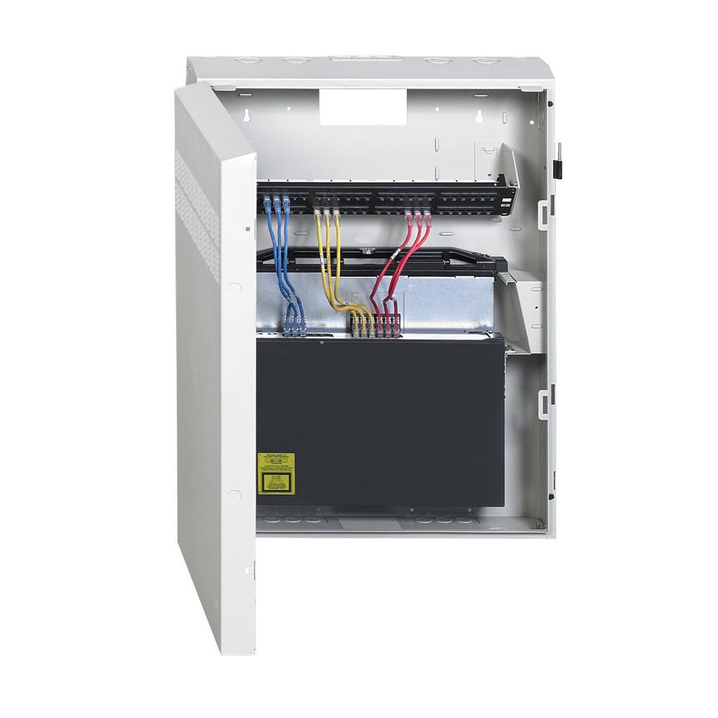 "REBOX® Commercial Cabinet, 32.2"" H x 24.2"" W x 7"" D, Light Gray, Pre-Configured"
