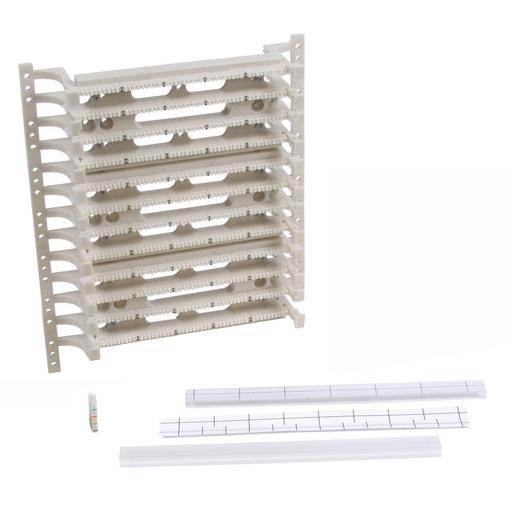 Mayer-110 System, Field Termination Kit, 4 Pair Connectors, 300 Pair, Black-1