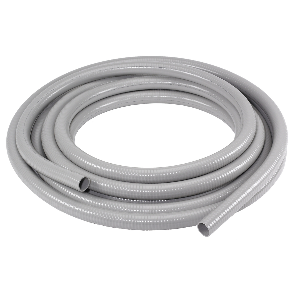 "Kellems Wire Management, Liquidtight System, Non-Metallic PolyTuff® I Conduit, Gray, 2"", 50 feet"