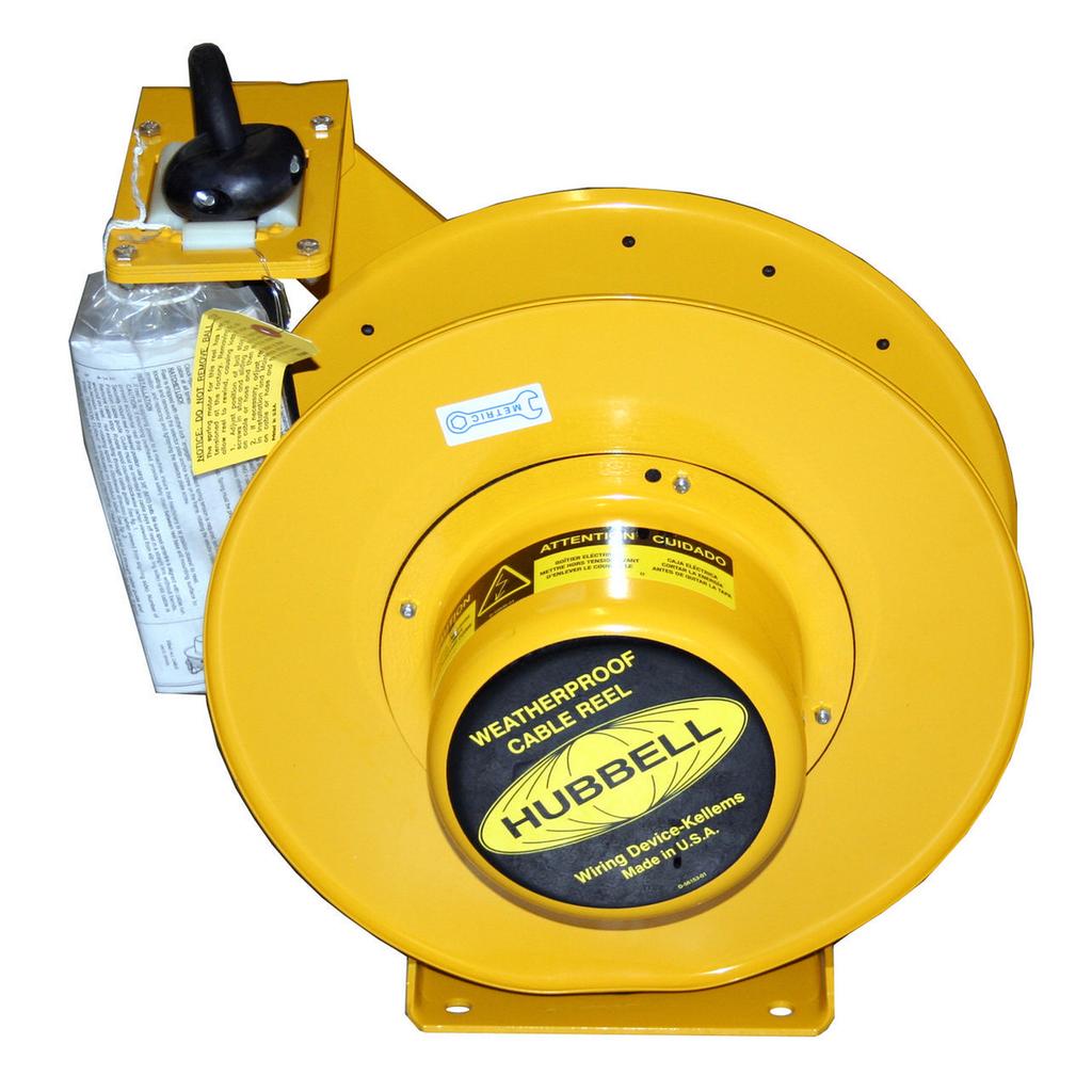 HCI HBL501032W W/PROOF ELEC REEL, 5