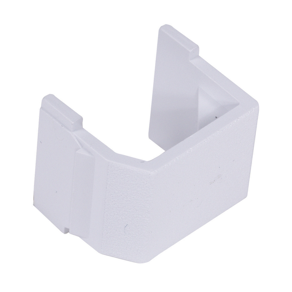 HUBBELL SFBW10 SNAP-IN BLANK MODULE WHITE (BAG OF 10)