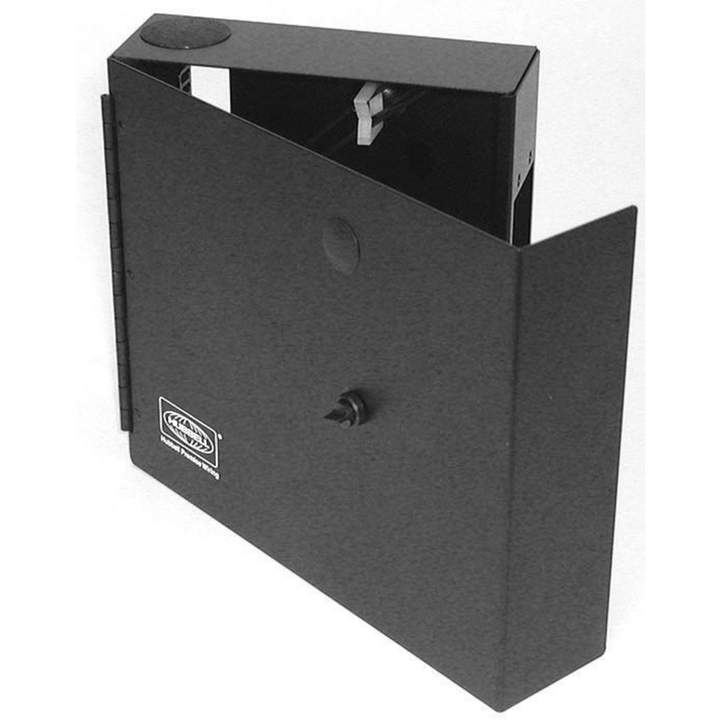 Hubbell Wiring Devices FTU1SP 1 Duplex Receptacle Holder 1 FSP Series Fiber Wall Mount Cabinet