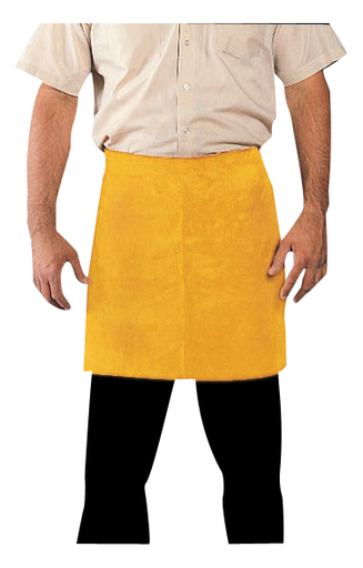 Leather Apron - Leather - Clothing - Cowhide - Length 12.5 in, Width 5 in, Height 1 in