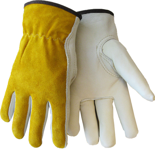 Driver - Gloves - Cowhide - Length 9.5 in, Width 5 in, Height 1 in