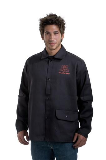 Jacket - Cotton - Clothing - Flame Retardant FR7A® - Length 16 in, Width 13 in, Height 1 in