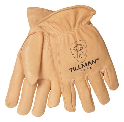 Driver - Gloves - Deerskin - Length 12 in, Width 5 in, Height 0.5 in
