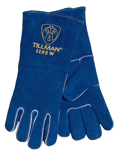 Stick - Gloves - Cowhide - Length 14 in, Width 6 in, Height 1 in