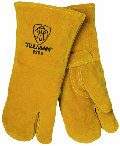 Stick Glove - Gloves - Cowhide - Length 16 in, Width 7 in, Height 0.5 in