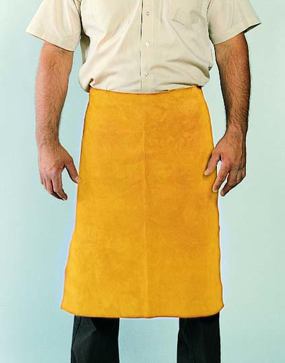 Leather Apron - Leather - Clothing - Cowhide - Length 12.5 in, Width 6 in, Height 1.5 in