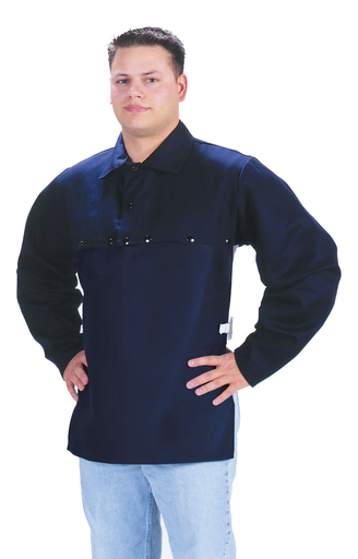 Cape Sleeves - Cotton - Clothing - Flame Retardant FR7A® - Length 12.5 in, Width 9.5 in, Height 1 in