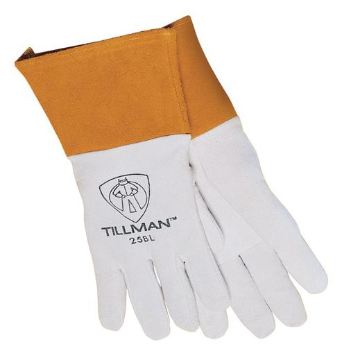 Tig - Gloves - Deerskin - Length 14.25 in, Width 6.25 in, Height 0.5 in