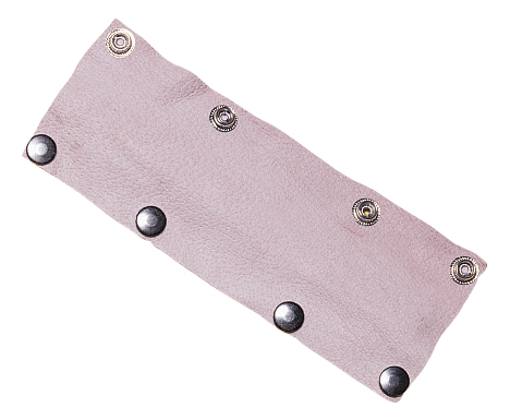 Leather Sweatband - Accessories - Pigskin - Length 8.75 in, Width 4 in, Height 0.125 in