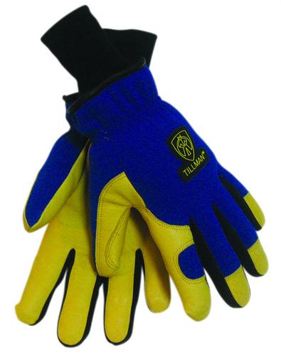 Winter - Gloves - Pigskin/Spandex - Length 10 in, Width 5 in, Height 2 in