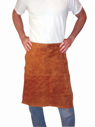 Leather Apron - Leather - Clothing - Cowhide - Length 12 in, Width 5 in, Height 1 in