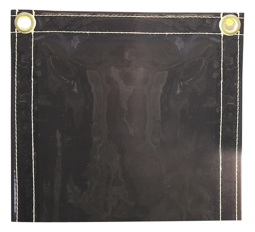 Curtain - Transparent Vinyl - Length 13 in, Width 13.5 in, Height 1.5 in