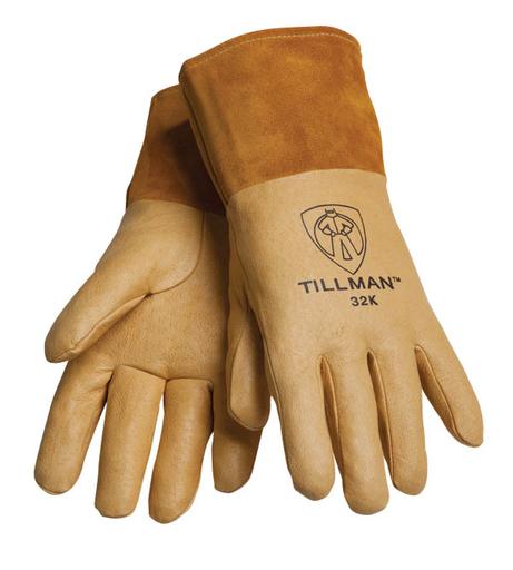 Mig - Gloves - Pigskin - Length 12.25 in, Width 6.5 in, Height 0.5 in