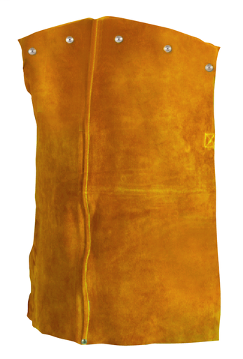 Bib - Leather - Clothing - Cowhide - Length 10 in, Width 5 in, Height 1 in