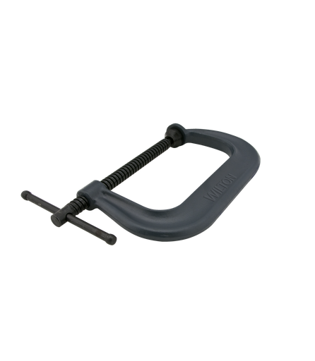"""Drop Forged C-Clamp, 0 -8-1/4"""" Opening, 5"""" Throat"""