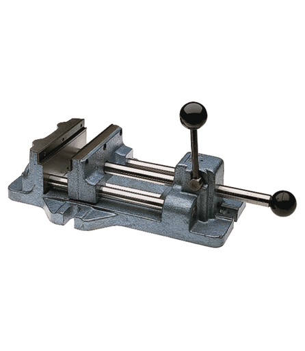 """Cam Action Drill Press Vise 1204, 4"""" Jaw Width, 4-11/16"""" Jaw Opening"""
