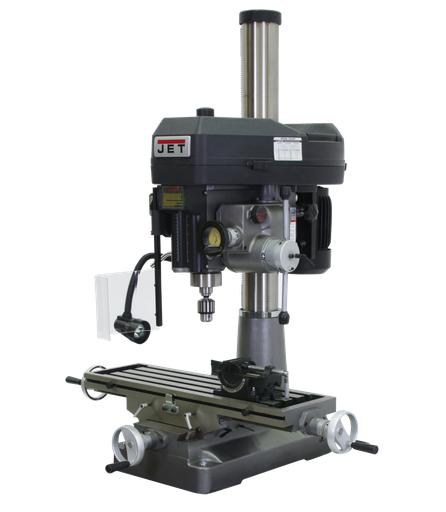 JMD-18PFN Mill/Drill With Power Downfeed 115/230V 1Ph