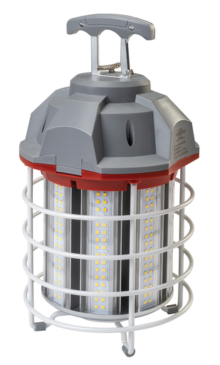 100W, 10,000 Lumens, Temp. Light, Frosted Lense, 3' cord, 400 MW Equiv.