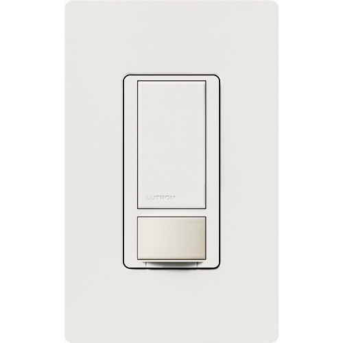 Lutron MS-OPS6M2-DV-WH Maestro 6 Amp Occupancy Sensor Dual Votage Switch