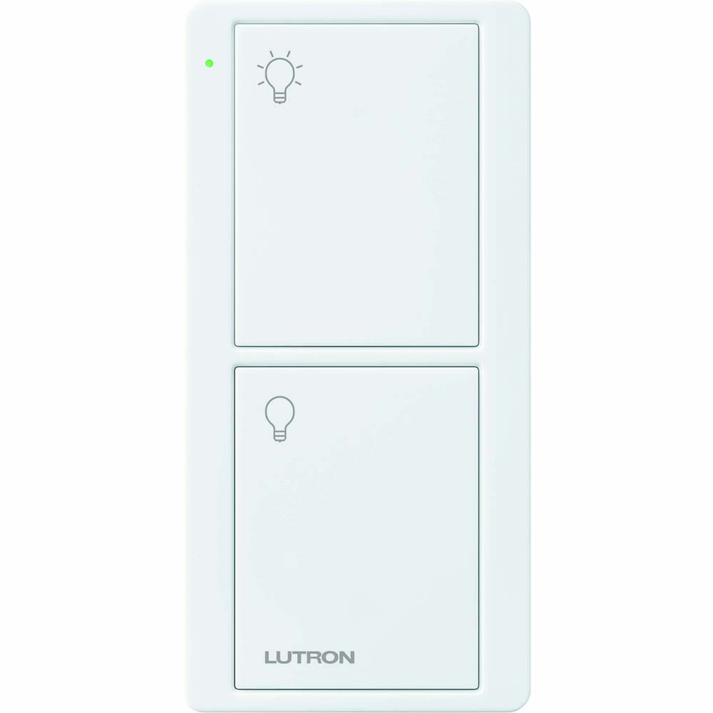 LUTRON PJ2-2B-GWH-L01 Pico Rf 434 WLed 2B Gloss Wh Light Icon*REPLACES PJ-2B-GHW-I01*