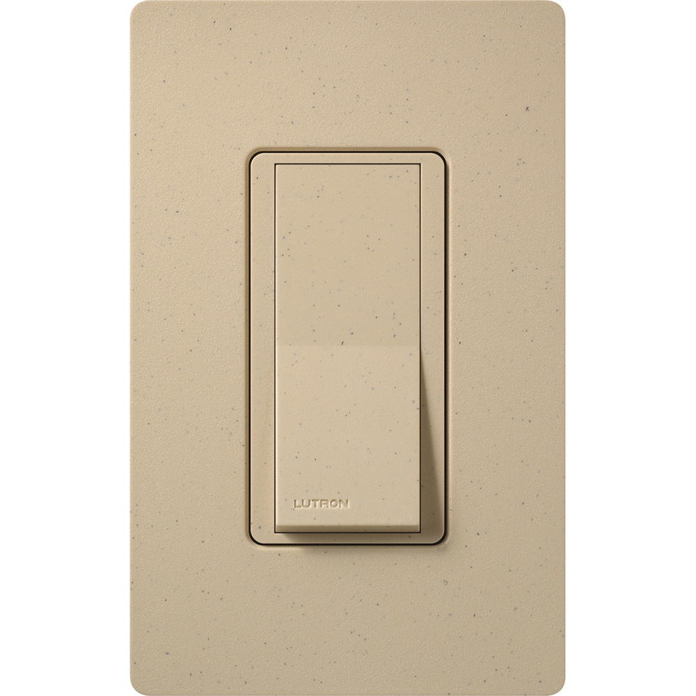 Lutron Electronics SC-4PS-DS 120/277 VAC 15 Amp 4-Way Desert Stone Standard Rocker General Purpose Switch