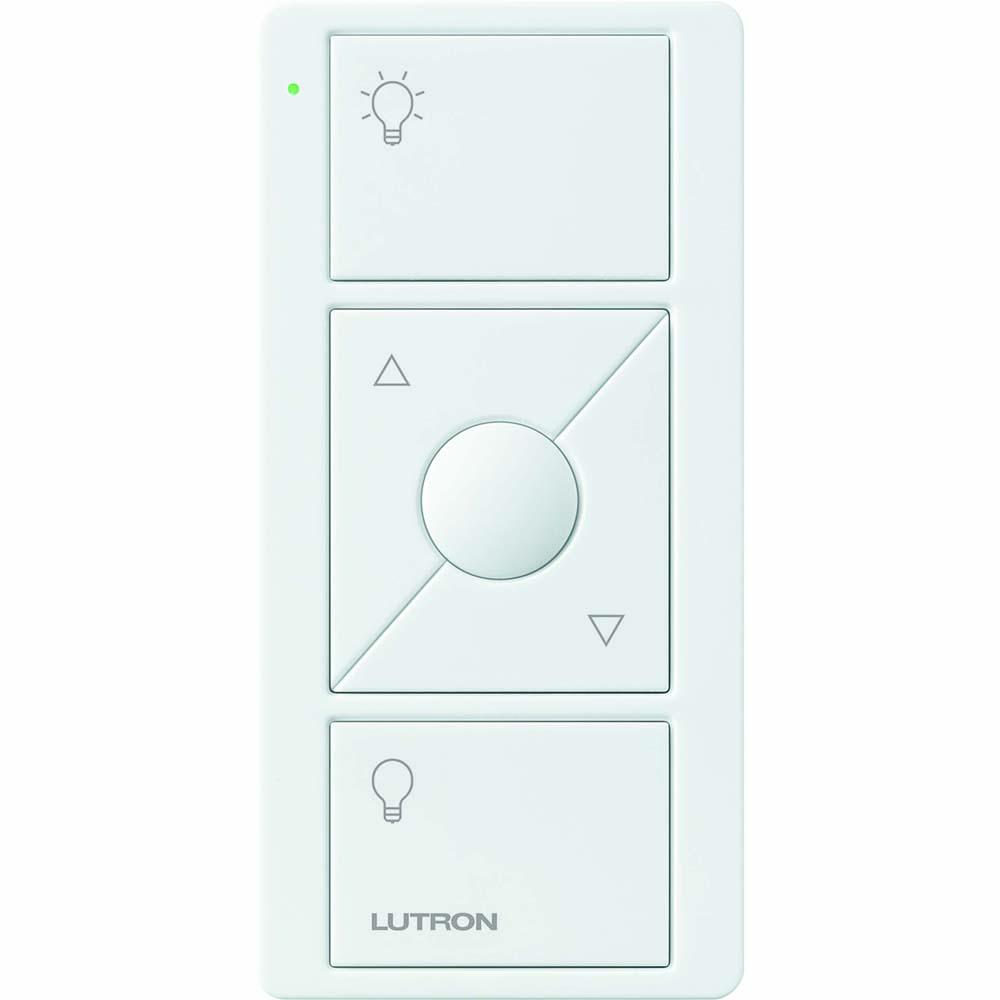Lutron Electronics PJ2-3BRL-GWH-L01 Pico 3-Button with Raise/Lower White Remote Control
