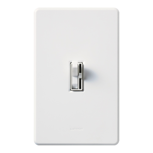 Lutron AY-103PH-WH Ariadni 1000 W 3-Way White Clamshell Dimmer