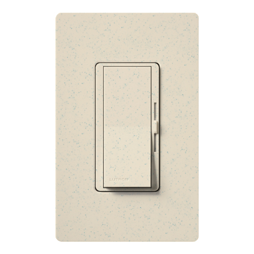 Lutron Electronics DVSC-600P-LS 600 W 120 Volt Limestone 1-Pole Incandescent/Halogen Paddle Switch Preset Dimmer