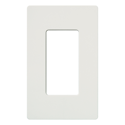 Lutron Electronics CW-1-WH 1-Gang White Polycarbonate Standard 1-Dimmer Designer Wallplate