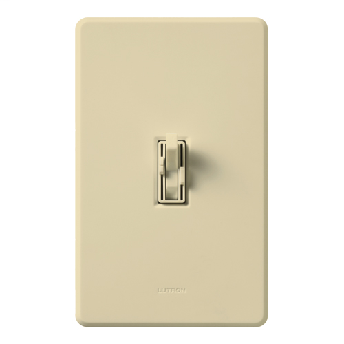 Lutron Electronics AY2-LFSQH-IV 1.5 Amp 300 W 120 Volt Ivory 1-Pole Incandescent/Halogen Fan/Light Speed Control Dimmer
