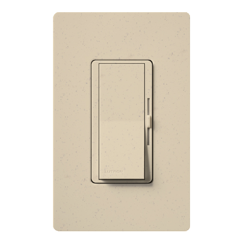 Lutron Electronics DVSC-603P-ST 600 W 120 Volt Stone 3-Way Incandescent/Halogen Paddle Switch Preset Dimmer