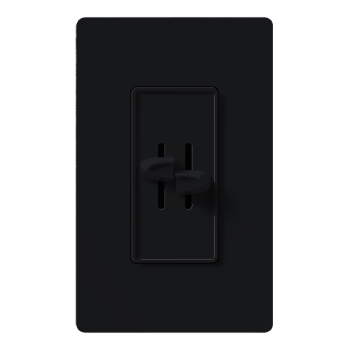 Lutron Electronics S2-L-BL 300 W 120 Volt Black 1-Pole Incandescent/Halogen Slide Dimmer