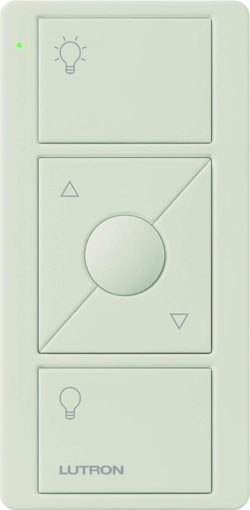 Lutron PJ2-3BRL-LA-L01R Pico 3-Button with Raise/Lower Light Almond Remote Control