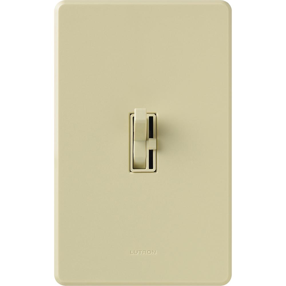 Lutron Electronics AY-603PNL-IV 600 W 120 Volt Ivory 1-Pole/3-Way Incandescent/Halogen Preset Dimmer