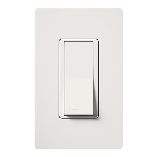 Lutron Electronics CA-1PS-WH 120/277 VAC 15 Amp 1-Pole White General Purpose Mechanical Switch
