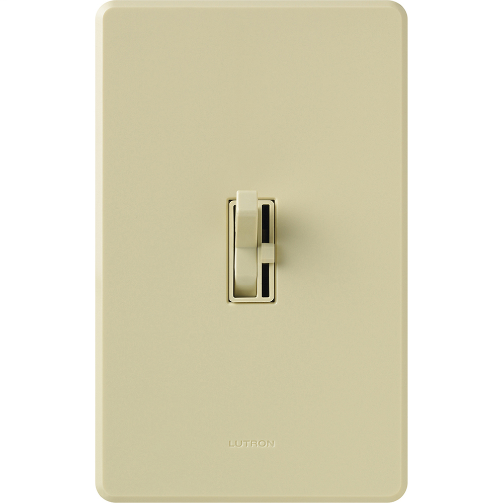 Lutron AY-603P-IV Ariadni 600 W 3-Way Preset Ivory Dimmer