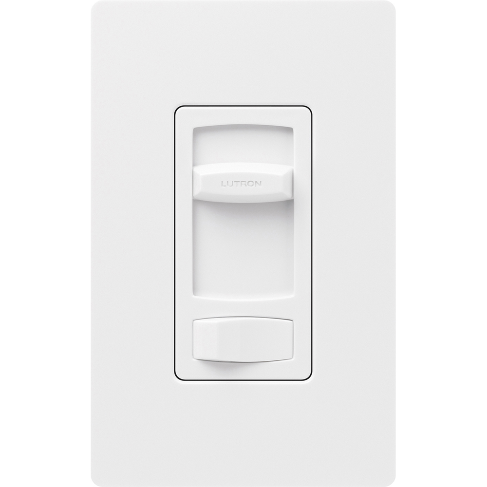 Lutron CTFSQ-F-WH 1.5 Amp Quiet Fan Speed Control